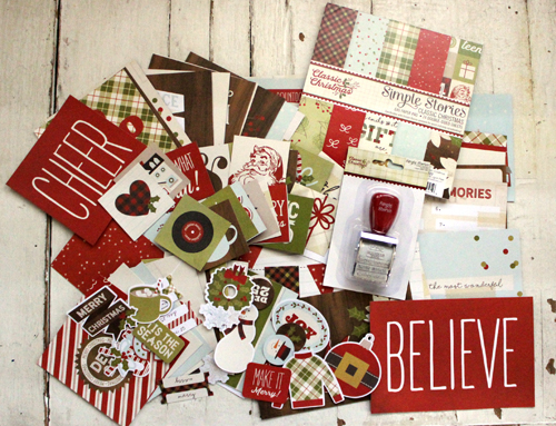 classic christmas kit from simple stories - Classic Christmas Stories